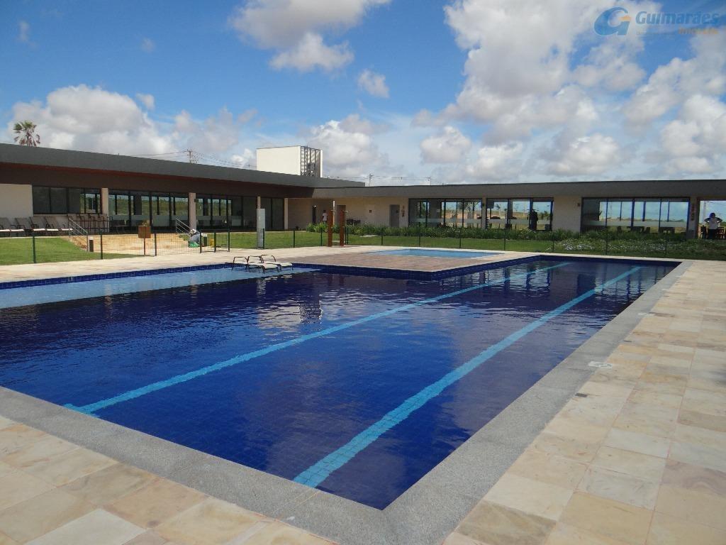 terreno residencial à venda, alphaville eusébio, eusébio. - te0083