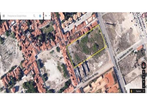 terreno residencial à venda, antônio diogo, fortaleza. - te0096