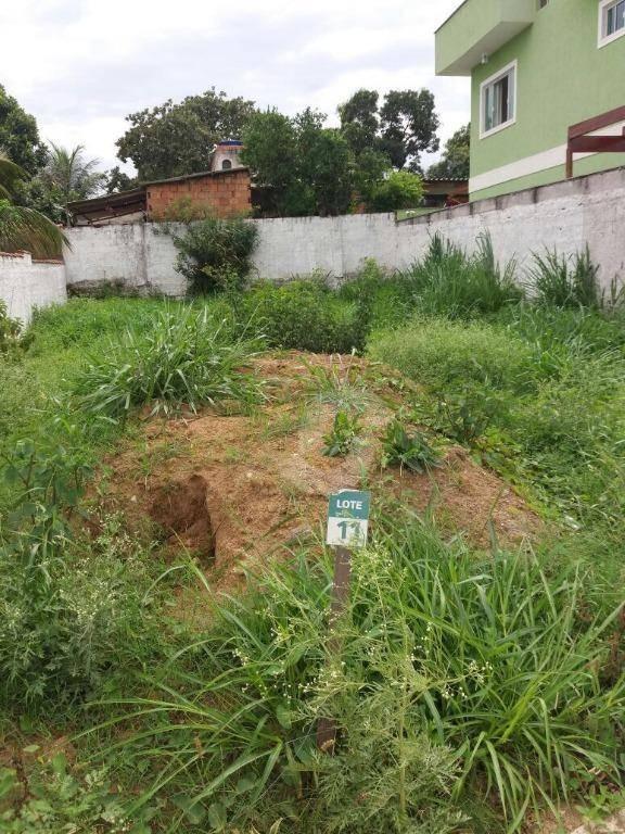 terreno residencial à venda, bela vista, itaboraí. - te0202