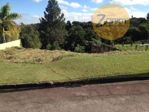 terreno residencial à venda, bosque das araras, vinhedo - te0126. - te0126