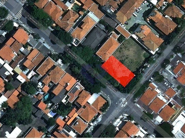 terreno residencial à venda, campo belo, são paulo. - te0289