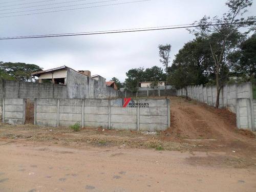 terreno residencial à venda, campos de atibaia, atibaia. - te0552