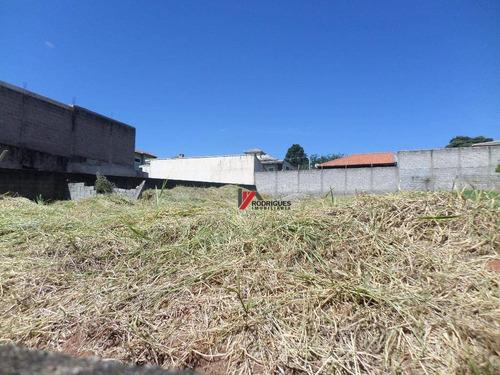 terreno residencial à venda, campos de atibaia, atibaia. - te0608