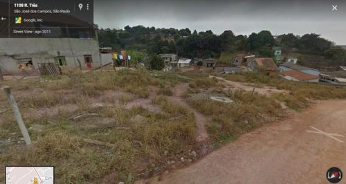 terreno residencial à venda, campos de são josé, são josé dos campos. - te0129