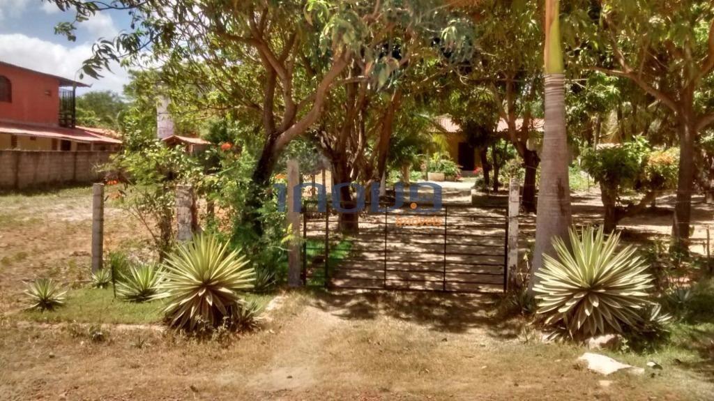 terreno residencial à venda, centro, caucaia. - te0037