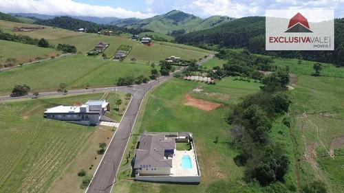terreno residencial à venda, centro, paraibuna - te0140. - te0140