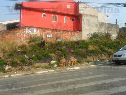 terreno residencial à venda, chácara quiriri, carapicuíba - te0060. - te0060