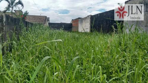 terreno residencial à venda, cibratel, itanhaém. - te0054