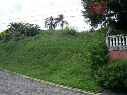 terreno residencial à venda, colinas de são fernando, cotia - te0755. - te0755