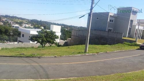 terreno residencial à venda, cond. portal do lago, valinhos. - te0283