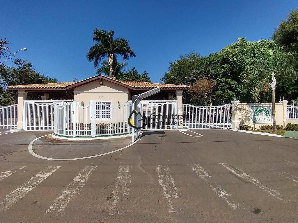terreno residencial à venda, condomínio aurora, paulínia - te0233. - te0233