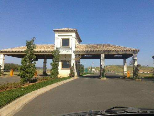terreno  residencial à venda, condomínio campos de santo antonio ii, itu. - te0063