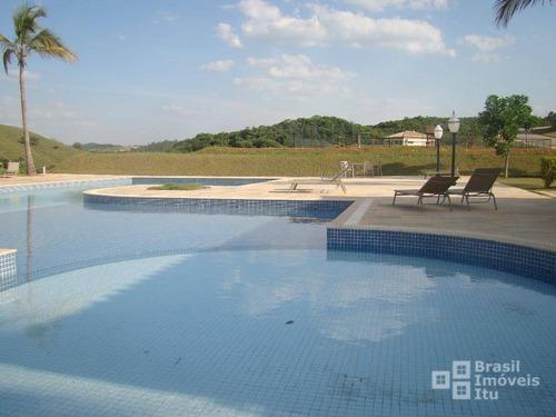 terreno residencial à venda, condomínio campos de santo antonio ii, itu - te0450. - te0450