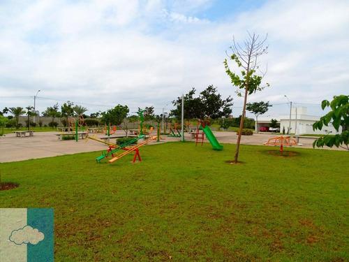 terreno residencial à venda, condomínio central park, salto - te0007. - te0007