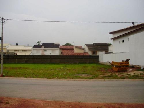 terreno residencial à venda, condomínio chácara ondina, sorocaba - te1645. - te1645
