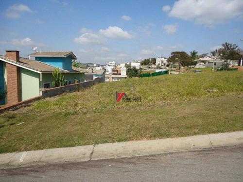 terreno  residencial à venda, condominio figueira garden, atibaia. - te0317