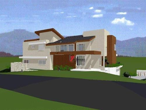 terreno  residencial à venda, condominio figueira garden, atibaia. - te0334