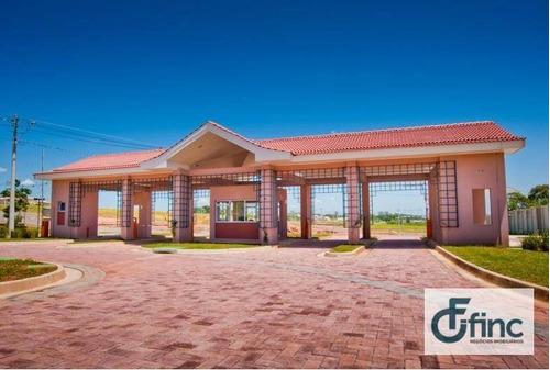 terreno  residencial à venda, condomínio giverny, sorocaba. - te0099