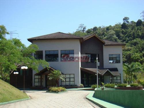 terreno residencial à venda, condomínio hills iii, arujá - te0064. - te0064