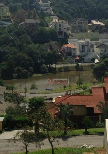 terreno residencial à venda, condomínio hills iii, arujá. - te0535