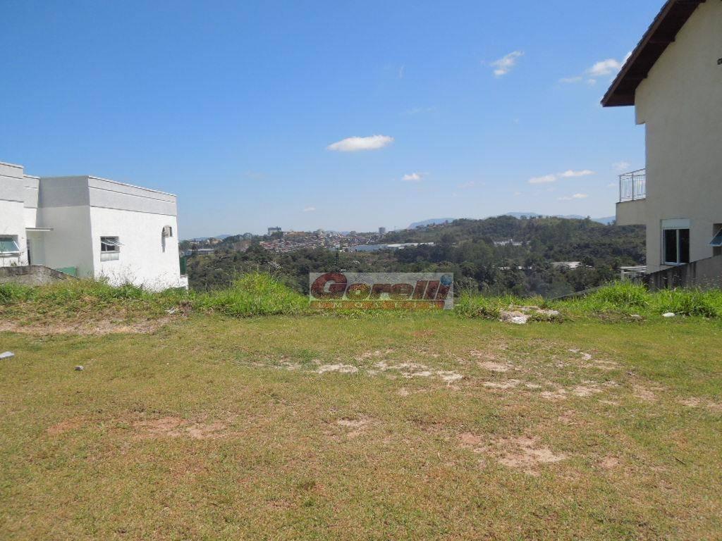 terreno residencial à venda, condomínio hills iii, arujá. - te0611