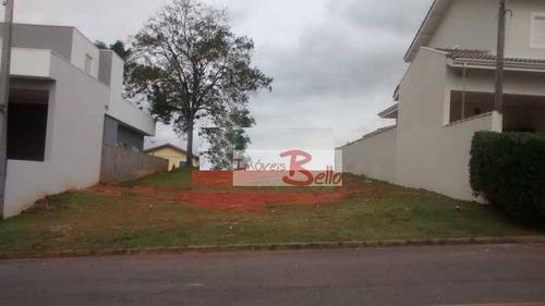 terreno residencial à venda, condomínio itatiba country club, itatiba. - te0591