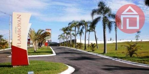terreno residencial à venda, condomínio jardim flamboyan, bragança paulista - te0011. - te0011