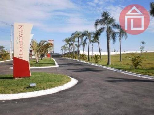 terreno residencial à venda, condomínio jardim flamboyan, bragança paulista - te0051. - te0051