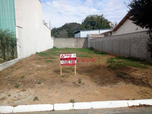 terreno residencial à venda, condomínio jatobá, tremembé. - te0879