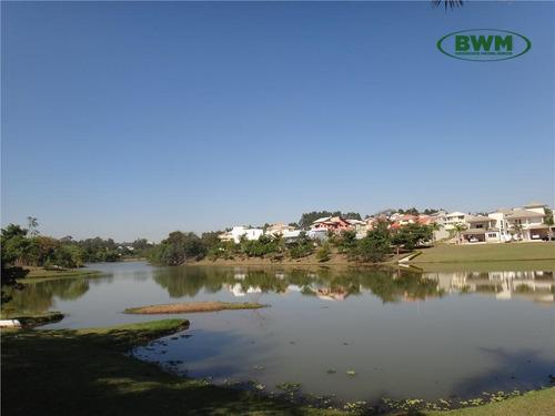 terreno residencial à venda, condomínio lago da boa vista, sorocaba - te1327. - te1327