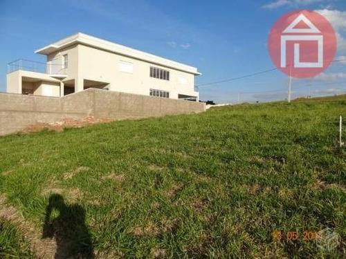 terreno residencial à venda, condomínio portal de bragança horizonte, bragança paulista - te0130. - te0130