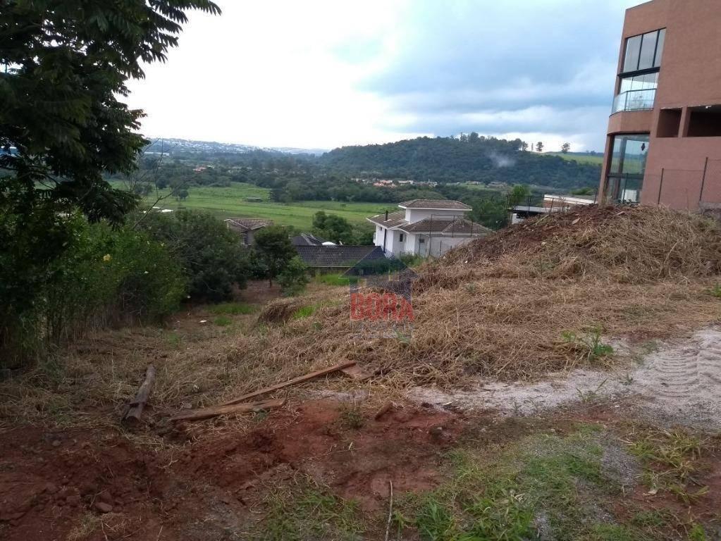 terreno residencial à venda, condominio porto atibaia, atibaia. - te0115