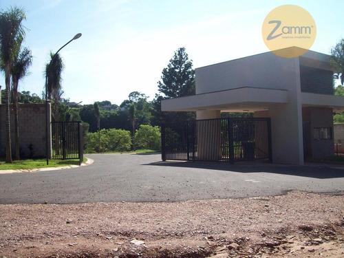 terreno residencial à venda, condomínio reserva do itamaracá, valinhos - te0412. - te0412