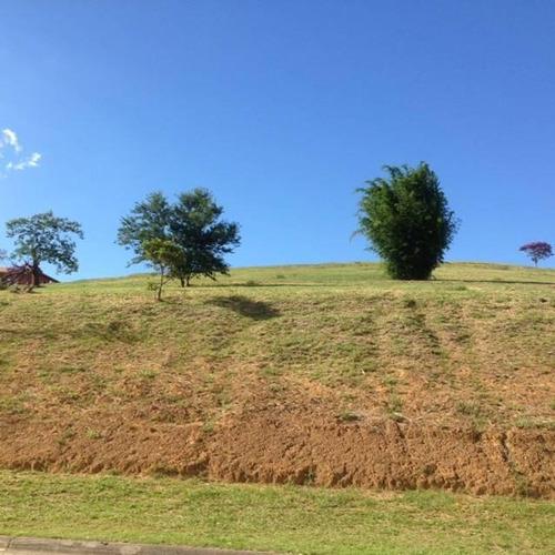 terreno residencial à venda, condomínio reserva do paratehy, são josé dos campos. - te1168