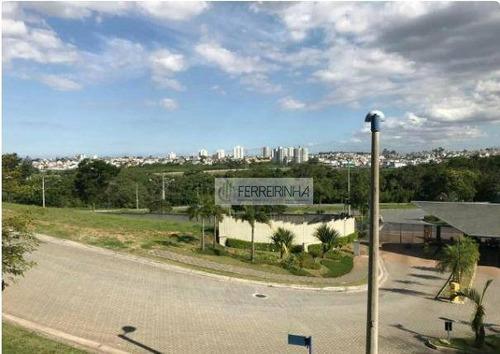 terreno residencial à venda, condomínio reserva do paratehy, são josé dos campos. - te1520