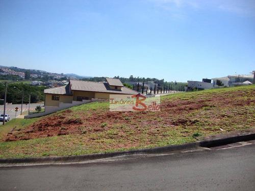 terreno residencial à venda, condomínio reserva santa rosa, itatiba. - te0521