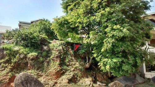 terreno residencial à venda, condomínio residencial água verde, atibaia. - te0453