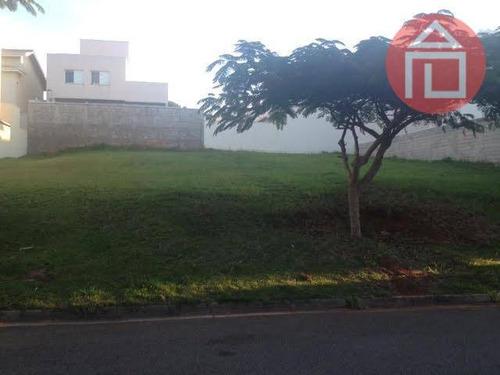 terreno residencial à venda, condomínio residencial euroville, bragança paulista - te0492. - te0492