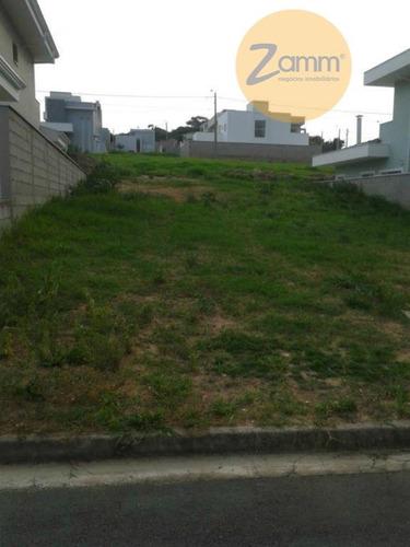terreno residencial à venda, condomínio residencial portal do jequitiba , valinhos. - codigo: te0347 - te0347