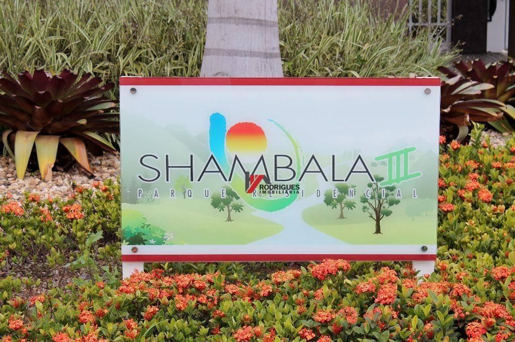 terreno residencial à venda, condomínio residencial shamballa iii, atibaia. - te0603