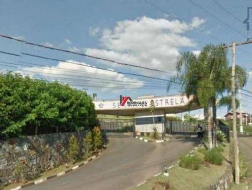 terreno residencial à venda, condomínio serra da estrela, atibaia - te0158. - te0158