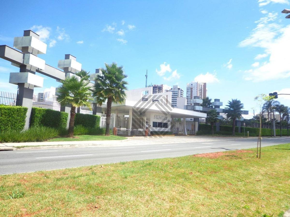 terreno residencial à venda, condomínio sunset village, sorocaba - te1173. - te1173