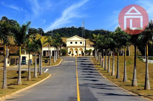 terreno residencial à venda, condomínio vale das águas, bragança paulista - te0322. - te0322