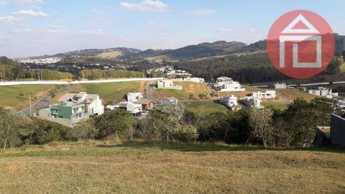 terreno residencial à venda, condomínio vale das águas, bragança paulista. - te0755
