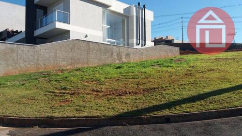 terreno residencial à venda, condomínio villa real de bragança, bragança paulista. - te0545