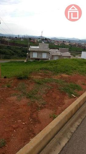 terreno residencial à venda, condomínio villa real de bragança, bragança paulista - te0682. - te0682