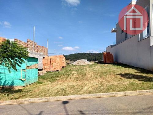 terreno residencial à venda, condomínio villa real de bragança, bragança paulista - te0731. - te0731