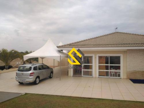 terreno residencial à venda, condomínio villagio milano, sorocaba. - te0683
