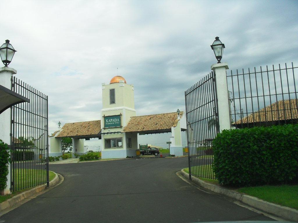 terreno residencial à venda, condomínio xapada parque ytu, itu. - te0472