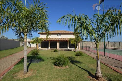 terreno residencial à venda, condomínio yucatan, paulínia - te0327. - te0327